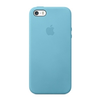 Чехол Apple Case для iPhone 5/5S Blue крупнее