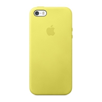 Чехол Apple Case для iPhone 5/5S Yellow крупнее