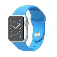 Apple Watch Sport 42mm with Sport Band Blue крупнее