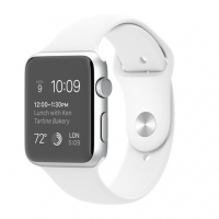 Apple Watch Sport 42mm with Sport Band White крупнее