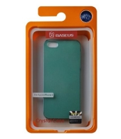 Чехол Baseus Crystal case для iPhone 5 Green крупнее