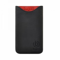 Чехол-карман Bugatti Pouch Skinny Universal Size ML glowing coal Black крупнее
