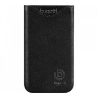 Чехол-карман Bugatti Pouch Slimfit iPhone 5/5S Black крупнее