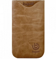 Чехол-карман Bugatti Pouch Skinny Size ML golden Summer Brown крупнее