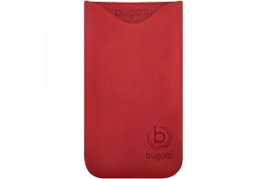 Чехол-карман Bugatti Pouch Skinny Universal Size ML Flaming red крупнее