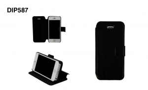 Чехол-книжка iwill Leather Case для iPhone 5/5S Black крупнее