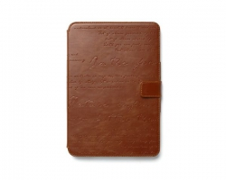 Чехол Zenus Masstige Lettering Diary для iPad mini/iPad Mini Retina Brown крупнее