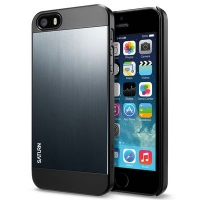 Чехол SGP Case Saturn  для iPhone 5/5S Metal Slate крупнее