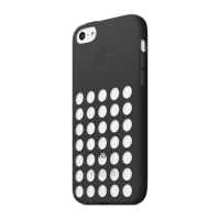 Чехол Apple Case для iPhone 5C Black крупнее