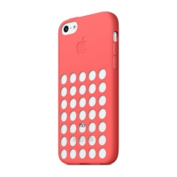 Чехол Apple Case для iPhone 5C Pink крупнее