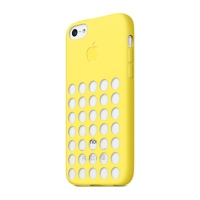 Чехол Apple Case для iPhone 5C Yellow крупнее