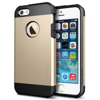 Чехол SGP Tough Armor  для  iPhone 5/5S Gold крупнее