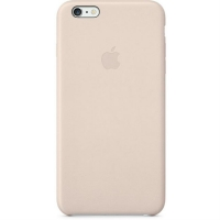Чехол Apple iPhone 6 Plus Leather Case Soft Pink крупнее