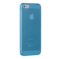 Чехол Ozaki O!coat 0.3 Jelly iPhone 5/5S Blue крупнее