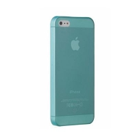 Чехол Ozaki O!coat 0.3 Jelly iPhone 5/5S Cyan крупнее