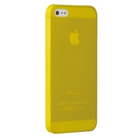 Чехол Ozaki O!coat 0.3 Jelly iPhone 5/5S Yellow крупнее
