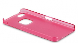 Чехол Momax Ultra Thin (Clear Touch) для iPhone 5/5S Pink крупнее