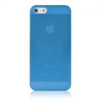 Чехол Baseus Organdy 0.4mm Case для iPhone 5/5S Blue крупнее
