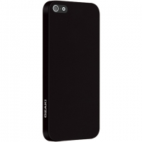 Чехол Ozaki O!coat 0.3 Solid iPhone 5/5S Black крупнее