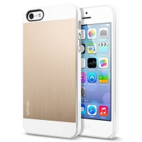 Чехол SGP Case Saturn  для iPhone 5/5S Gold крупнее