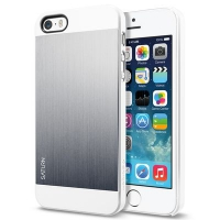 Чехол SGP Case Saturn  для iPhone 5/5S Silver крупнее