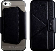 Чехол-книжка The Core Smart Case для iPhone 5/5S Black крупнее