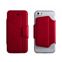 Чехол-книжка The Core Smart Case для iPhone 5/5S Red крупнее