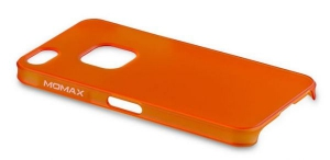 Чехол Momax Ultra Thin (Clear Touch) для iPhone 5/5S Orange крупнее