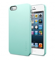 Чехол SGP Ultra Thin Air для iPhone 5/5S Green крупнее
