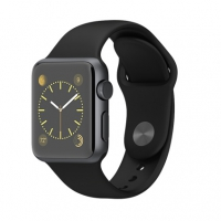 Apple Watch Sport 42mm with Sport Band Black крупнее