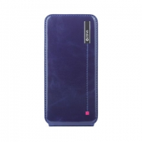 Чехол Zenus Masstige Color Point Folder для iPhone 5/5S Navy крупнее
