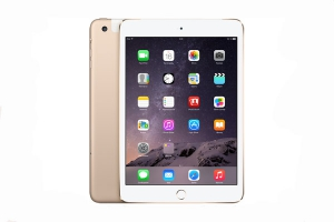 Apple iPad mini 3 Wi-Fi + Cellular 128Gb Gold крупнее