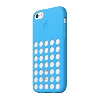 Чехол Apple Case для iPhone 5C Blue крупнее