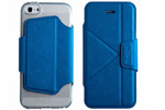 Чехол-книжка The Core Smart Case для iPhone 5/5S Blue крупнее