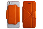 Чехол-книжка The Core Smart Case для iPhone 5/5S Orange крупнее