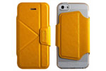 Чехол-книжка The Core Smart Case для iPhone 5/5S Yellow крупнее