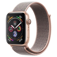 Apple Watch Series 4 40mm Gold Aluminum Case with Pink Sand Sport Loop (MU692) крупнее